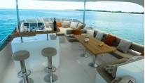 Yacht BIONDA -  Flybridge Seating