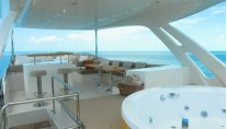 Yacht BIONDA -  Flybridge Spa Pool
