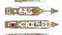 Yacht BLIND DATE 161 -  Layout