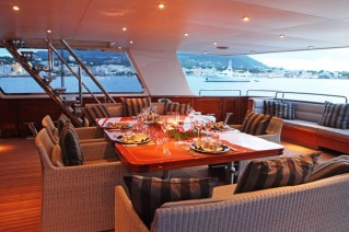 Yacht BLUE ATTRACTION - Main Deck Dining 2