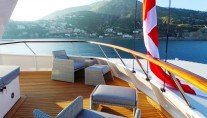 Yacht BLUE ATTRACTION - Sundeck Lounging