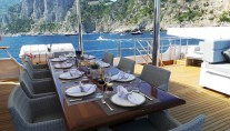 Yacht BLUE ATTRACTION - Upper Dining