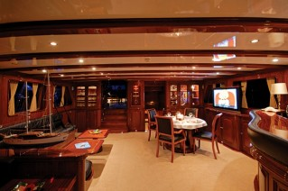 Yacht BLUE EYES -  Salon and Dining