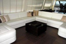 Yacht BLUE FORCE ONE -  Salon Seating
