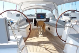 Yacht BLUE PASSION -   Cockpit