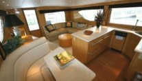 Yacht BLUE RENDEZVOUS -  Dining area
