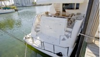 Yacht Bella Mare -  Aft View of Swim Platform