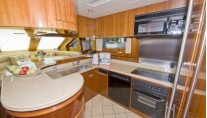 Yacht Bella Mare -  Country Kitchen Galley