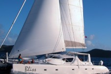 Sailing Catamaran Bliss