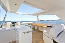 Yacht CARTE BLANCHE III -  Flybridge 2
