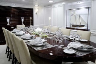 Yacht CHARISMA -  Formal Dining