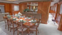 Yacht CHILDS PLAY - Dining