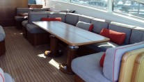 Yacht CLAN V - Upper Salon Seating