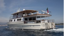 Yacht CLARA ONE - Aft View