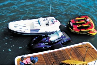 Yacht CRISTALEX -  Swim Platform and Toys