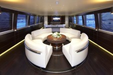 Yacht CYRUS ONE -  Salon Dining