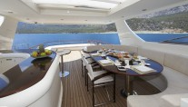 Yacht CYRUS ONE -  Sundeck Dining