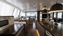 Yacht Cartouche Interior - A Blue Coast 95 Catamaran - Photo Credit Gilles Martin-Raget
