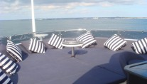 Yacht Devocean -  Top Deck Sunpads