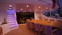 Yacht Devocean -  Upper Deck Al fresco Dining