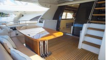 Yacht Dolce Mia - Aft Deck View 2