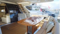 Yacht Dolce Mia - Aft Deck
