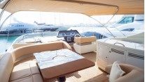 Yacht Dolce Mia - Flybridge View 2