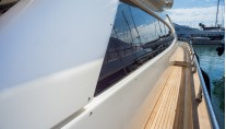 Yacht Dolce Mia - Side Deck