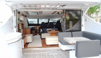 Yacht EAGLE II -  Aft Deck and Salon