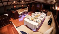 Yacht ESTRELLA DE MAR - Formal Dining
