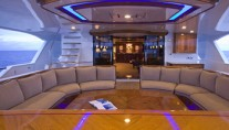 Yacht EXCELLENCE -  Aft Deck Seating