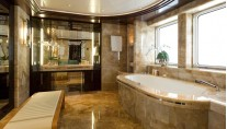 Yacht Eminence Guest Suite Bathroom
