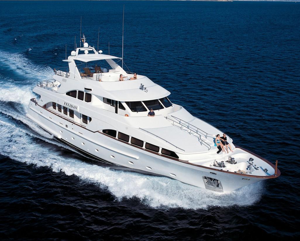 yacht felidan  france luxury yacht charter boat