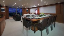 Yacht FORTRUS -  Formal Dining