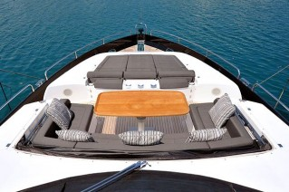 Yacht FREE WILLI -  Foredeck