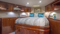 Yacht GALE WINDS - Guest cabin forward full beam