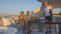 Yacht GALE WINDS - Sunset cocktails