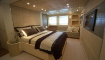 Yacht GEORGE P -  Master Cabin