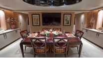 Yacht GOLDEN TOUCH - Formal Dining