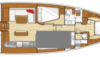 Yacht GYPSEA SWING -  Layout