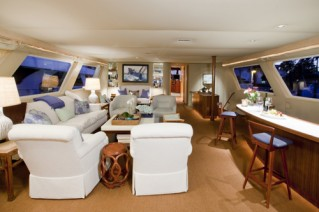 Yacht Georgiana - Salon