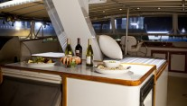 Yacht Georgiana - Sundeck bar