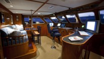 Yacht Georgiana - Wheelhouse