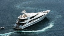 Yacht IDEFIX - From Above