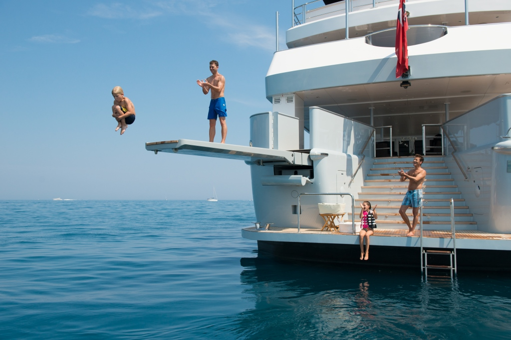 Swim Image Gallery Luxury Yacht Browser By
