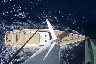 Yacht ILLUSION OF THE ISLES -Mast view