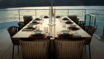 Yacht IMPERIAL PRINCESS -  Bridge deck Dining