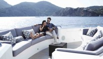 Yacht IMPERIAL PRINCESS -  Sundeck Seating
