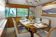 Yacht IMPETUOUS -  Dining Room