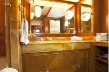 Yacht IMPETUOUS -  Master Bathroom 2